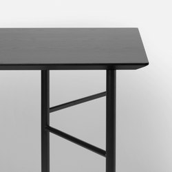 Mingle Table Top - Black Veneer - 135 cm | Materials | ferm LIVING