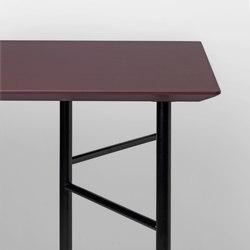 Mingle Table Top - Bordeaux Linoleum - 135 cm | Tableros para mesas | ferm LIVING