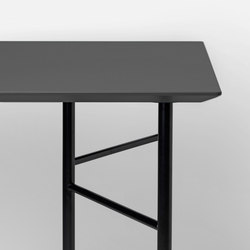 Mingle Table Top - Charcoal Linoleum - 135 cm | Tableros para mesas | ferm LIVING