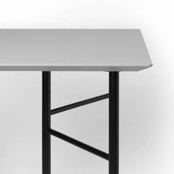 Mingle Table Top - Light Grey Linoleum - 135 cm | Materiales | ferm LIVING