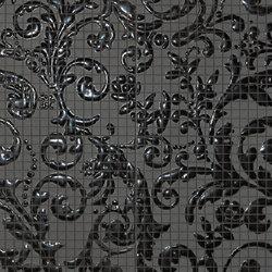 Fap Mosaici Dark Side Damasco Black Gloss | Ceramic mosaics | Fap Ceramiche