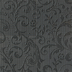 Fap Mosaici Dark Side Damasco Black Matt | Ceramic mosaics | Fap Ceramiche