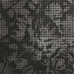 Fap Mosaici Dark Side Night Flower | Ceramic mosaics | Fap Ceramiche