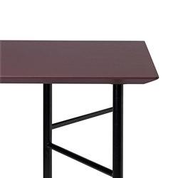 Mingle Table Top - Bordeaux - 160 cm | Planchas de linóleo | ferm LIVING