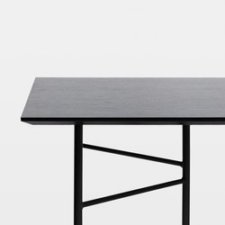 Mingle Table Top - Black Veneer - 210 cm | Materiales | ferm LIVING