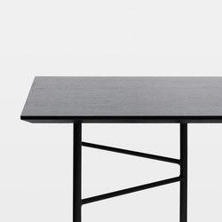 Mingle Table Top - Black Veneer - 210 cm | Tableros para mesas | ferm LIVING