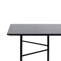 Mingle Table Top - Black Veneer - 210 cm | Tableros para mesas | ferm LIVING