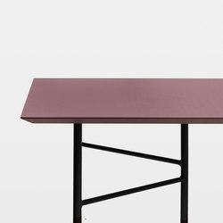 Mingle Table Top - Bordeaux Linoleum - 210 cm | Materials | ferm LIVING