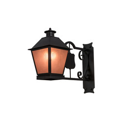 Stafford Lantern Wall Sconce | Wall lights | 2nd Ave Lighting