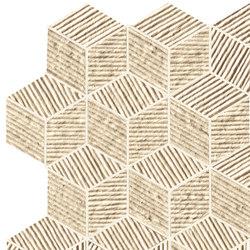 Lumina Glam Almond Cube Mosaico | Ceramic tiles | Fap Ceramiche