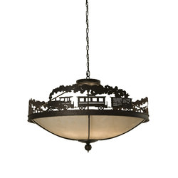 Train Pendant | Éclairage général | 2nd Ave Lighting