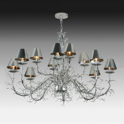 Twig Chandelier | Allgemeinbeleuchtung | 2nd Ave Lighting