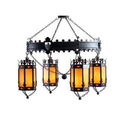 Valhalla 4 LT Chandelier | General lighting | 2nd Ave Lighting