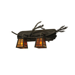 Valley View Pine Branch Wall Sconce | Iluminación general | 2nd Ave Lighting
