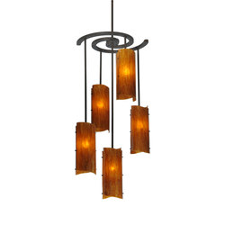 Vortex 5 LT Chandelier | General lighting | 2nd Ave Lighting