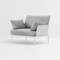 Reva Armchair | Garden armchairs | PEDRALI
