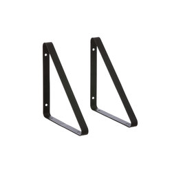 Shelf Hangers - Black | Shelving | ferm LIVING