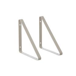 Shelf Hangers - Light Grey | Shelving | ferm LIVING