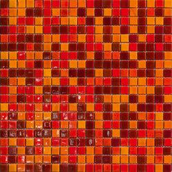 Cromie 15x15 Gorizia | Glass mosaics | Mosaico+