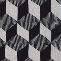 Squares Blanket - Black | Couvertures / oreillers | ferm LIVING