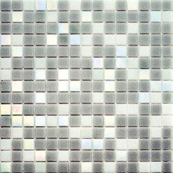 Cromie Aqua 20x20 Grigio Lux | Mosaici vetro | Mosaico+