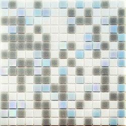 Cromie Aqua 20x20 Grigio Azzurro Lux | Mosaïques | Mosaico+