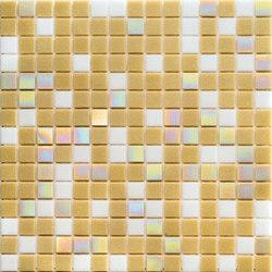 Cromie Aqua 20x20 Beige C. Lux | Mosaici vetro | Mosaico+