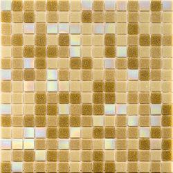 Cromie Aqua 20x20 Beige S. Lux | Mosaici vetro | Mosaico+