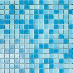 Cromie Aqua 20x20 Turchese Mix | Mosaïques verre | Mosaico+