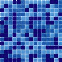 Cromie Aqua 20x20 Avio Mix | Glass mosaics | Mosaico+