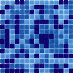 Cromie Aqua 20x20 Avio Mix | Mosaïques verre | Mosaico+