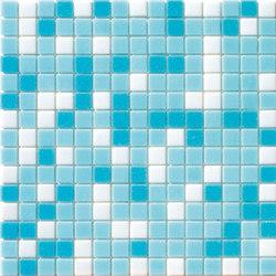 Cromie Aqua 20x20 Azzurro Mix | Mosaïques verre | Mosaico+