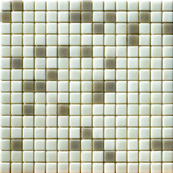 Cromie Aqua 20x20 Bianco Mix | Glass mosaics | Mosaico+