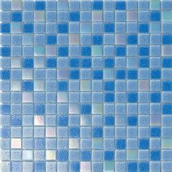 Cromie Aqua 20x20 Celeste Lux Mix | Mosaici vetro | Mosaico+