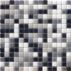Cromie Aqua 20x20 Grigio Mix | Mosaici vetro | Mosaico+