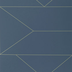Wallpaper Lines - Dark Blue | Carta parati / tappezzeria | ferm LIVING