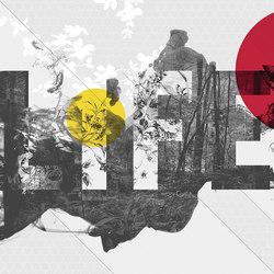 Life Is Peachy | Wandbeläge / Tapeten | LONDONART s.r.l.
