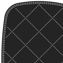 Stitch white ochre 3 x 2 | Rugs / Designer rugs | Tristan Frencken