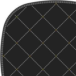 Stitch white ochre 2 x 2 | Rugs / Designer rugs | Tristan Frencken