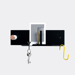 Untitled Pocket Small Black | Built-in wardrobes | Untitled Story
