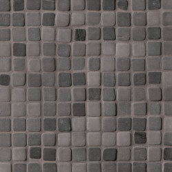 Nord Night Solid Color Mosaico | Ceramic mosaics | Fap Ceramiche