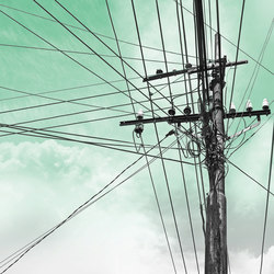 Electric | Wall coverings / wallpapers | LONDONART