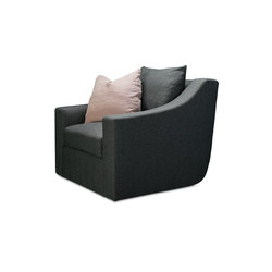 Clarence | Swivel Club Chair | Armchairs | Verellen