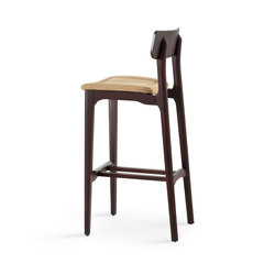 Cacao | SG 80 | Bar stools | CHAIRS & MORE SRL