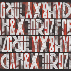 Letras | Wall coverings / wallpapers | LONDONART s.r.l.