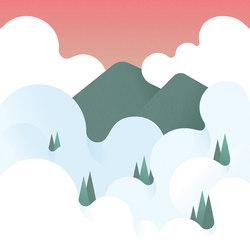 Fog | Wall coverings / wallpapers | LONDONART