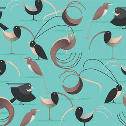 Birds Of Paradise | Wall coverings / wallpapers | LONDONART