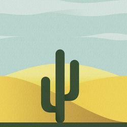 Desert | Carta da parati / carta da parati | LONDONART