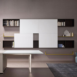 Aliante | Open System | Office shelving systems | Estel Group