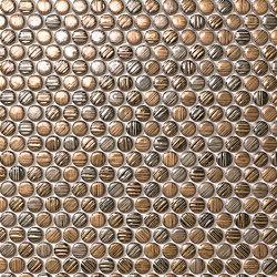 Mek gold circles | Mosaïques céramique | Atlas Concorde